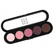 Палитра теней, 5 цветов Make-Up Atelier Paris T13 розово-вишневые тона: фото