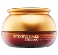 Отзывы Крем с экстрактом змеиного яда антивозрастной BERGAMO Intensive snake synake wrinkle 50 г