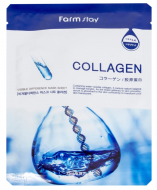 Маска с коллагеном FARMSTAY Collagen visible difference mask sheet 23 мл: фото