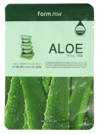 Маска с экстрактом алоэ FARMSTAY Aloe visible difference mask sheet 23 мл: фото