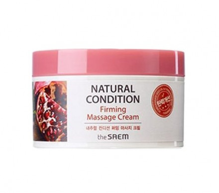 Крем массажный укрепляющий THE SAEM Natural Condition Firming Massage Cream 200мл: фото
