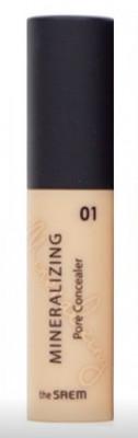 Консилер для маскировки пор THE SAEM Mineralizing Pore Concealer 01 Clear Beige 4ml: фото