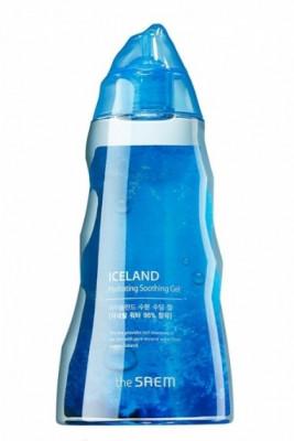Гель для тела минеральный THE SAEM Iceland Hydrating Soothing Gel 300мл: фото