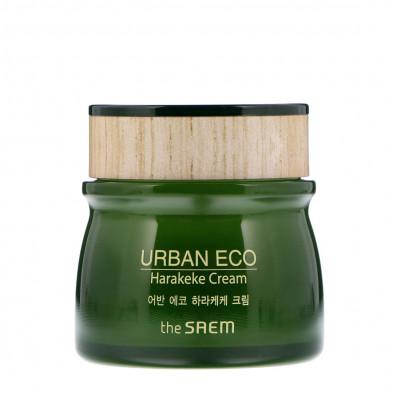 Крем питательный с экстрактом новозеландского льна THE SAEM Urban Eco Harakeke Cream 60мл: фото