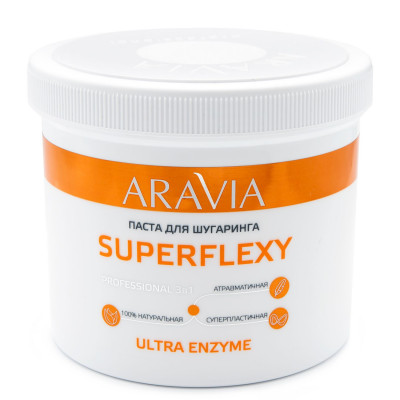 Паста для шугаринга ARAVIA Professional SUPERFLEXY Ultra Enzyme 750г: фото
