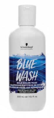 Тонер для волос Schwarzkopf Professional ColorWash Голубой 300 мл: фото