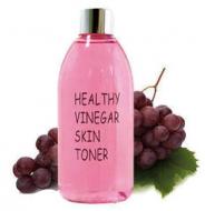 Тонер для лица КРАСНОЕ ВИНО REALSKIN Healthy vinegar skin toner Grape wine 300мл: фото