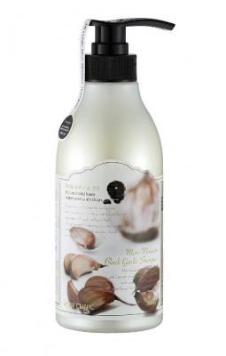 Шампунь для волос с экстрактом черного чеснока увлажняющий 3W Clinic More Moisture Black Garlic 500 мл: фото