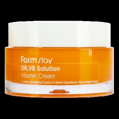 Крем с витаминами FarmStay Dr-V8 Solution Vitamin Cream 50мл: фото