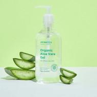 Органический увлажняющий гель алоэ вера AROMATICA 95% Organic Aloe Vera Gel 500 мл: фото