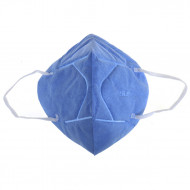 Маска респиратор синяя KN95 (1 шт) N95B: фото