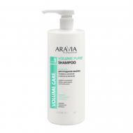 Шампунь для придания объёма тонким и склонным к жирности волосам ARAVIA Professional Volume Pure Shampoo 1000мл: фото