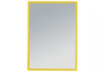 Зеркало прямоугольное карманное Titania 85*60 мм разные цвета: фото