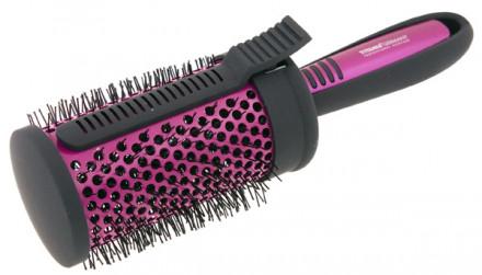 Термобрашинг для волос керамический с зажимом TITANIA 65мм: фото